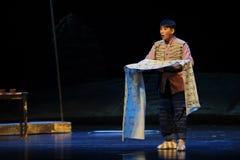Arien-Jiangxi-Oper eine Laufgewichtswaage Lizenzfreies Stockfoto