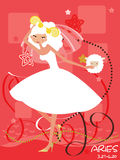 Aries bride Stock Photo