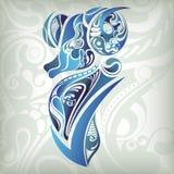 Aries del zodiaco ilustración del vector