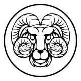 Aries Horoscope Birth Sign Royalty Free Stock Image
