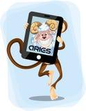 Aries Monkey  horoscope Royalty Free Stock Photos