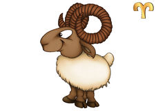 Aries, Ram, Horoscope, Star Sign Royalty Free Stock Photo