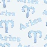 Aries seamless Stock Photos