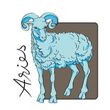 Aries sign Royalty Free Stock Photos
