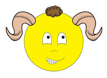 Aries Smiley Stock Photography