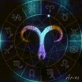 Aries symbol Zdjęcia Stock