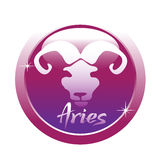 aries symbol Obrazy Royalty Free