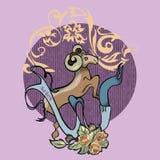 Aries tatuaż zdjęcie royalty free