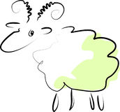 Aries verde Fotografia Stock