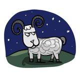 Aries zodiac Royalty Free Stock Photography