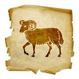 Aries zodiac icon, Royalty Free Stock Image