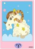 Aries Zodiac Sign Image libre de droits