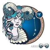 Aries. Zodiac sign Stock Image