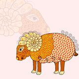 Aries Zodiac Sign Stock Images
