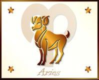Aries Zodiac Star Sign illustration stock