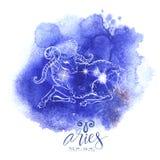 Ariete del segno di astrologia royalty illustrazione gratis