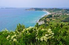 Arillas στο νησί της Κέρκυρας, Ελλάδα Στοκ φωτογραφίες με δικαίωμα ελεύθερης χρήσης