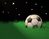 återanvänt fotbollpapper royaltyfri illustrationer