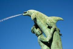 Arion Fountain in Olomouc Stock Photography