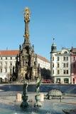 The Arion Fountain at Upper Square in Olomouc, Czech Republic Stock Image
