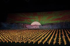Arirang Mass Games 2011 in DPRK Royalty Free Stock Photography
