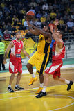 Aris BSA vs Cedevita Zagreb Stock Photo