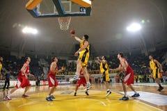 Aris BSA vs Cedevita Zagreb Royalty Free Stock Images