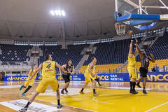 ARIS VS PAOK GREEK BASKET LEAGUE Royalty Free Stock Photography