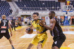 ARIS VS PAOK GREEK BASKET LEAGUE Royalty Free Stock Photo