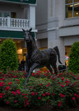 Aristedes, The first winner of the Kentucky Derby. May 4, 2017: Aristedes, The first winner of the Kentucky Derby memorialized royalty free stock image