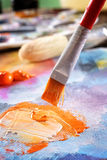 Aristic acrylics paint Royalty Free Stock Photography