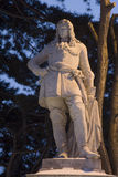 Aristocrat statue from Vienna Stock Photo