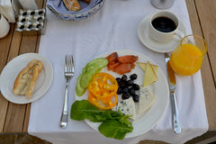 Aristocratic  breakfast Stock Photo