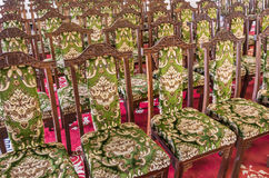 Aristocratic and elegant Chairs Stock Images