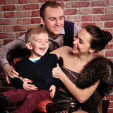 Aristocratic family Royalty Free Stock Photography