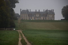 Aristocratic house. This photo was taken in the old aristocratic house in france Stock Photo