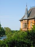 Aristokratisches schwedisches Haus Stockbild