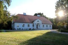 Aristokratiskt herrgårdhus Royaltyfri Fotografi