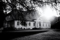 Aristokratiskt herrgårdhus Arkivfoto