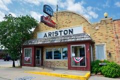 Ariston Cafe in Litchfield, Illinois Lizenzfreies Stockfoto