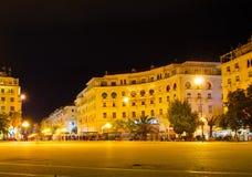 Aristotelous kwadrat greece Thessaloniki fotografia royalty free