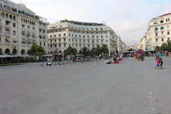 Aristotelous Square, Thessaloniki, Greece Royalty Free Stock Photos