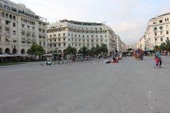 Aristotelous Square, Thessaloniki, Greece Royalty Free Stock Photos