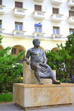 Aristotle statue Thessaloniki Royalty Free Stock Image