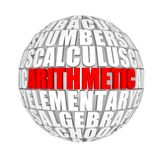 Arithmetic Stock Photography