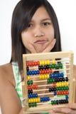 Arithmetic help. A ball machine as an arithmetic help Stock Photos