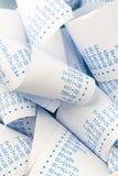 Arithmetic strip a calculator Royalty Free Stock Photos