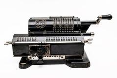 Arithmometer meccanico - calcolatore fatto in URSS Immagine Stock