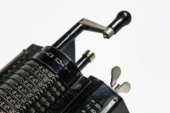 Arithmometer meccanico - calcolatore fatto in URSS Fotografia Stock Libera da Diritti