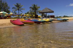 Arituba Lagoon -located next to Tabatinga Beach and is an excellent option for swimming in calmer waters. stock image